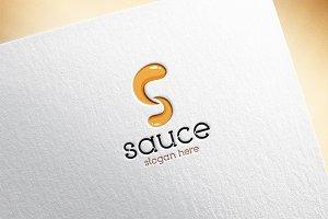 Sauce / Letter S Logo Template