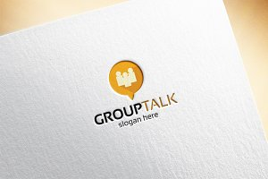 Grouptalk Logo Template