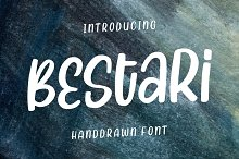 Bestari - Handdrawn Font
