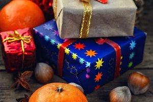 spruce tangerine Christmas