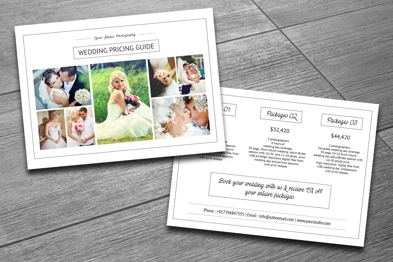 Wedding Photography Price List V159