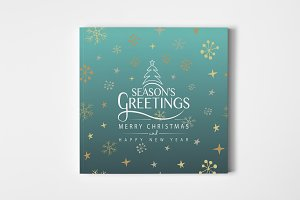 Season's Greetings Lettering