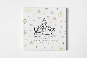 Season's Greetings Typography
