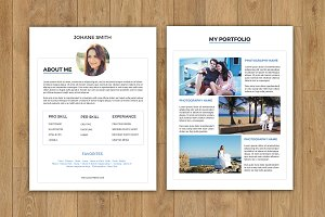 Photographer About me Page-V160