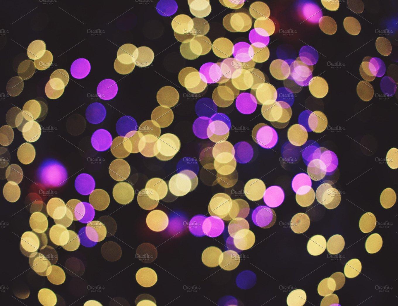 blurred bokeh of christmas lights holiday photos creative market - Blurred Christmas Lights