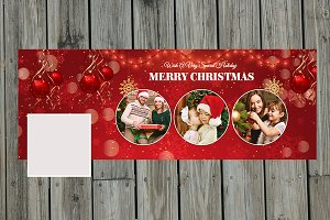 New Year/Christmas Facebook timeline