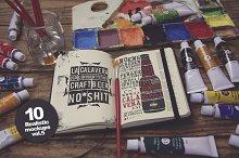 10 Art Equipment Mockup vol.5