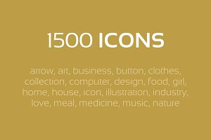 Icon the Internet - 1500 icons