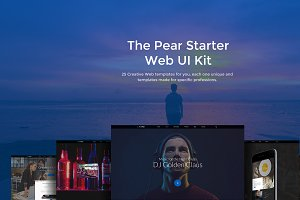 The Pear Starter Web UI Kit