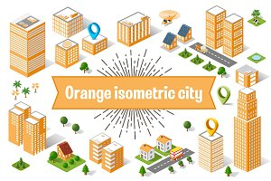 Orange City Set