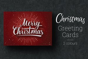 Greeting Cards — Merry Christmas