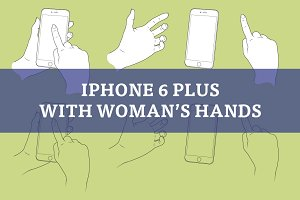 Woman hands with Apple iPhone 6 Plus