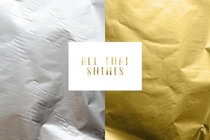 Real Gold & Silver Foil