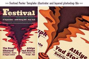 Vintage Psychedelic Festival poster