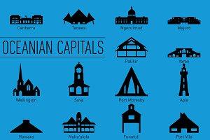 Oceanian Capital Landmarks