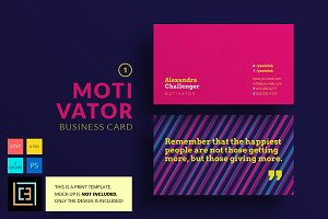 Motivator Business Card 1