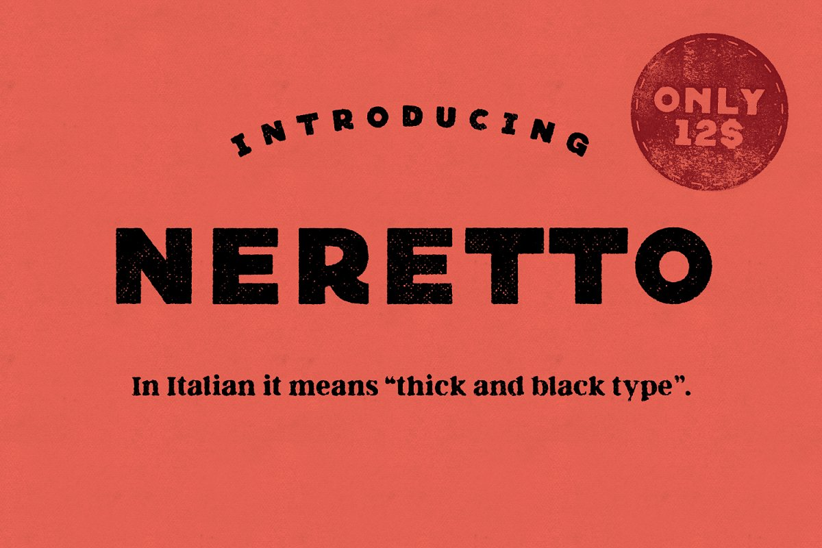 Neretto Sans Font ~ Display Fonts ~ Creative Market