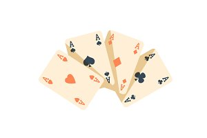 Playing Cards Poker vector icons
