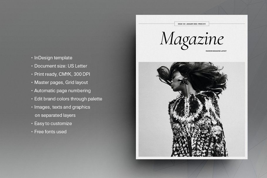 Style Fashion Magazine Creative Indesign Templates Creative Market