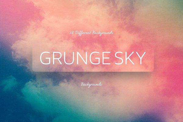 Grunge SKY Backgrounds   summer