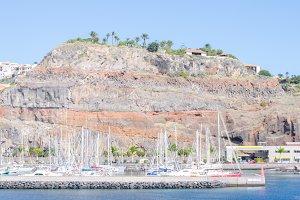 Harbour of San Sebastian de La Gomer