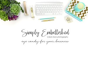 Styled Stock Photo - Desktop Mockup