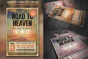 Concert Festival Flyer