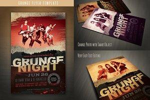 Grunge Flyer Template
