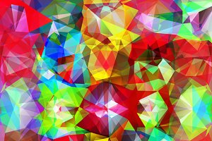 Set of Abstract Geometric Background