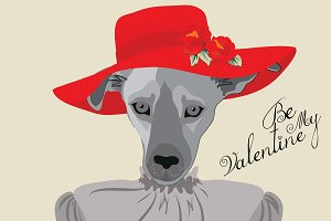 Be My Valentine's Dog (female)