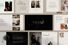 Valerie - Google Slides Template by  in Presentations