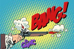 Duel shot pistol