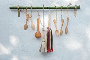 Old kitchen tools