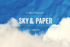 Sky and Paper Texture Backgrounds