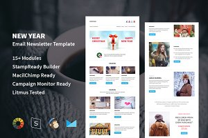 New Year - Responsive Email Template