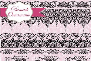 52 Vintage Borders Brushes