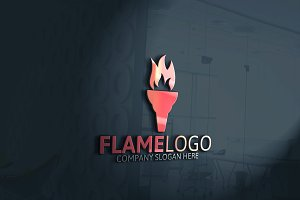 Flame Fire Logo
