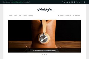Sales Engine: WP eCommerce Theme