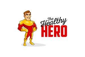 Superhero Character Logo