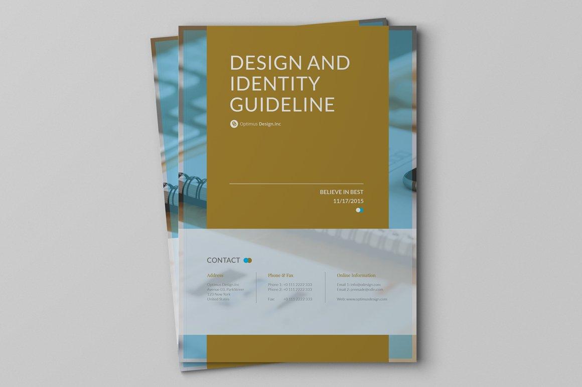 Brand Guideline v 3 ~ Brochure Templates ~ Creative Market