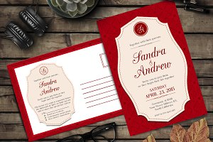 Elegant Wedding Invitation 2