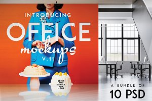 Office Mock-ups Bundle