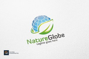 Nature Globe - Logo Template