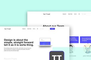 Type Thought WordPress Theme