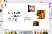 Jennifer Kyle - Unique Blog Theme by  in Web Themes