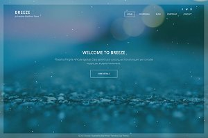 Breeze - Elegant WP Theme