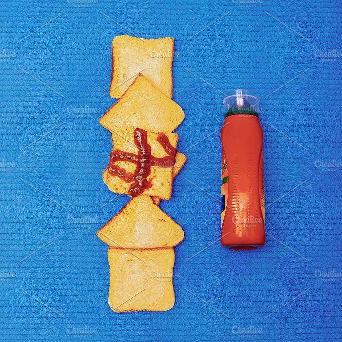 Trash design. Fast food life - Photos