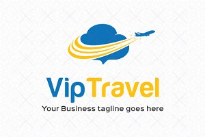 Vip Travel Logo Template