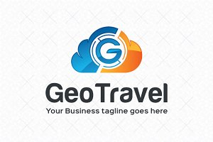 GeoTravel Logo Template