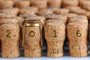 Champagne Corks for 2016